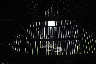 Old Barn in Floyds Knobs, Indiana